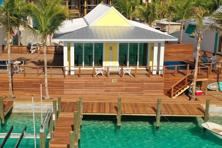 Chardonay Cottage Staniel Cay